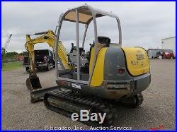 2011 Wacker 3503 Hydraulic Mini Excavator Backhoe Yanmar Diesel AUX bidadoo