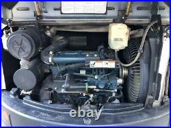 2012BOBCAT E42 MINI EXCAVATOR, CAB, 1250HRS, With attachments. A/C, HEAT, RADIO