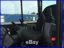 2012 BOBCAT MINI EXCAVATOR HYDRAULIC THUMB CLAMP CAB HEAT AIR RUBBER TRACKS
