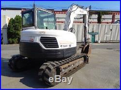2012 BobCat E80 Midi Excavator -Aux Hydraulics Diesel- Hydraulic Thumb