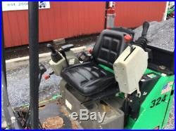 2012 Bobcat 324 Hydraulic Mini Excavator with Kubota Diesel Only 1700 Hours