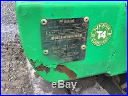 2012 Bobcat 324 Hydraulic Mini Excavator with Kubota Diesel Only 600 Hours