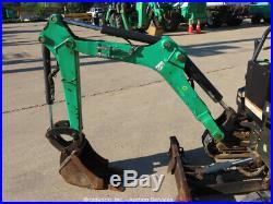 2012 Bobcat 418A Mini Excavator Rubber Tracks Dozer Backhoe Kubota bidadoo
