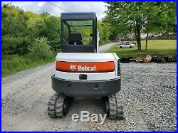 2012 Bobcat E42 Excavator 9k Lb New Hydraulic Thumb Kubota Diesel New Tracks