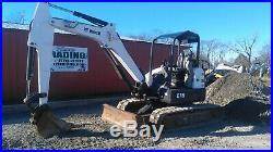 2012 Bobcat E45 Hydraulic Mini Excavator with Kubota Diesel Engine