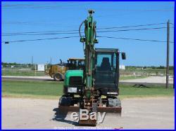 2012 Bobcat E80A Mini Hydraulic Excavator Rubber Tracks A/C Cab Trackhoe bidadoo