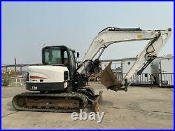 2012 Bobcat E80 Mid Size Excavator