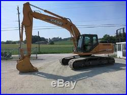 2012 CASE CX250C EXCAVATOR, 177 HP, 24' DIGGING DEPTH, 48 HRS EXTREMELY NICE