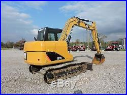 2012 CATERPILLAR 307D EXCAVATOR ENCLOSED CAB WITH A/C AND HEAT LOW HOURS