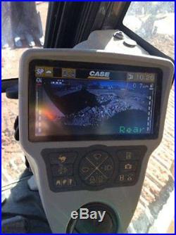 2012 Case CX 250C Track Excavator 177 HP Diesel Full Cab Heat & A/C Rear Camera