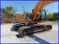 2012 Case Cx-210 B 164 HP Isuzu Turbo Diesel 44k Pound MID Sized Excavator