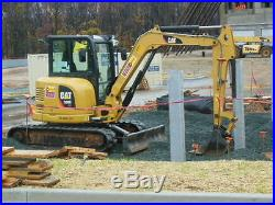 2012 Caterpillar 305E Excavator with rubber track