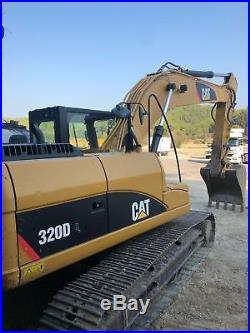 2012-Caterpillar 320DL Hydraulic Crawler Excavator CAT 320DL