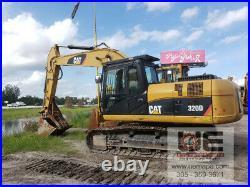 2012 Caterpillar 320D Excavator