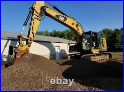 2012 Caterpillar 320E LRR Hydraulic Excavator Hyd Quick Coupler AUX CAT 320EL