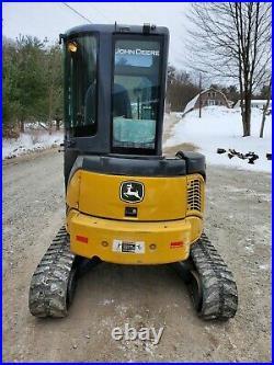2012 Deere 35d Excavator Cab Heat A/c Low Hours Long Arm Hydraulic Thumb Nice