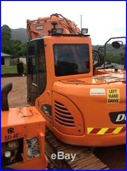 2012 Doosan Dx140lcr Trackhoe/excavator