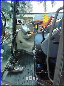 2012 Hitachi Zx85-usb Hydraulic Coupler Option Enclosed Air Conditioned Cab