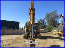 2012 Hyundai ROBEX235L CR-9 Hydraulic Diesel Excavator Cab Thumb Aux Hyd bidadoo