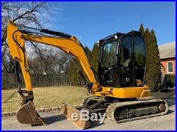 2012 JCB 8035 ZTS Rubber Track Excavator Cab Diesel Crawler Mini Two Speed