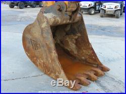 2012 JCB JS145LC Hydraulic Excavator A/C Cab Aux Hyd Trackhoe Buckdet bidadoo