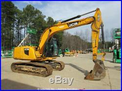 2012 JCB JS145LC Hydraulic Excavator A/C Cab Aux Hyd Trackhoe Digger bidadoo