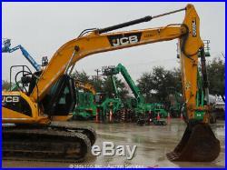 2012 JCB JS220LC Hydraulic Excavator 42 Bucket Aux Hyd A/C Cab Tractor bidadoo