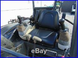 2012 JOHN DEERE 35D MINI EXCAVATOR With HYDRAULIC THUMB YANMAR DIESEL 8K LBS