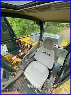2012 John Deere 120D Crawler Excavator With Bucket NEW PAINT, NEW SERVICE