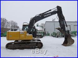 2012 John Deere 120D Excavator Hydraulic Thumb A/C Cab Aux Hyd bidadoo