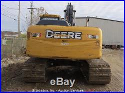 2012 John Deere 200D LC Excavator Hydraulic Thumb A/C Cab Q/C Aux Hyd bidadoo
