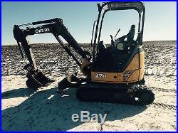 2012 John Deere 27D Mini-X Excavator