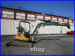 2012 John Deere 35D Mini Excavator Diesel