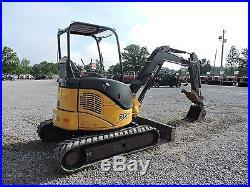 2012 John Deere 35d Mini Excavator Bobcat Orops Hydraulic Thumb