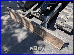 2012 John Deere 50D MINI EXCAVATOR CAB A/C Hyd Thumb SERVICED