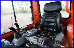 2012 KUBOTA KX91R3S2 Excavator, with Heated Cab and A/C, and Standard Blade