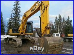 2012 Kobelco SK295-9 Mark 9 High and Wide Excavator Hydraulic Thumb Catwalks