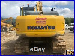 2012 Komatsu PC160 LC-8 Crawler Excavator Cab AC Diesel Track