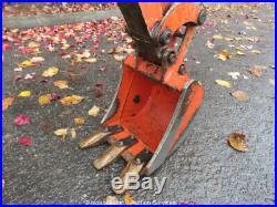 2012 Kubota K008-3 Mini Excavator Backhoe Extendable Rubber Tracks bidadoo
