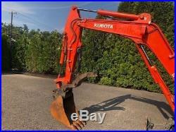 2012 Kubota KX71-3S Rubber Track Excavator Hydraulic Thumb Diesel 2 Speed Mini