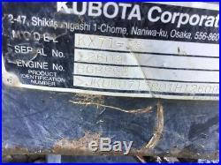 2012 Kubota KX71-3 Mini Excavator