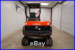 2012 Kubota Kx121-3 (super Series) Mini Compact Track Excavator