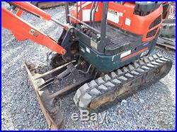 2012 Kubota U17 Compact Mini Excavator with 1201 Hours, 3 Buckets. GOOD SHAPE