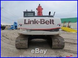 2012 Link Belt 210x2 Hydraulic Excavator Track Hoe Diesel Thumb Aux Hyd bidadoo
