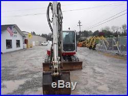 2012 Takeuchi Tb285 Excavator, Cab Air, Hyd Thumb, 3rd Valve, 1276 Hrs Very Nice