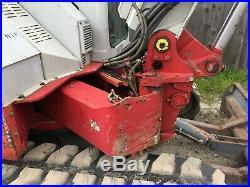 2012 Takeuchi TB180FR Excavator, Enclosed Cab, Thumb, Blade, 1,943 hrs