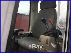 2012 Takeuchi TB250 Mini Excavator with Cab