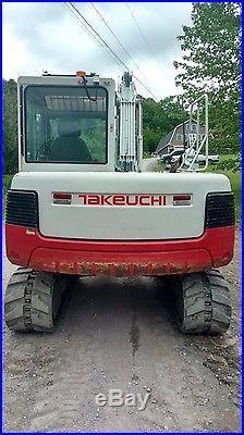 2012 Takeuchi Tb175 Excavator Enclosed Cab Ready 2 Work Pa! We Ship Nationwide