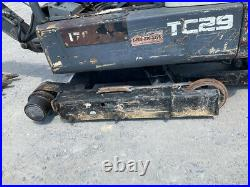 2012 Terex TC29 Hydraulic Mini Excavator NEEDS WORK READ DESCRIPTION