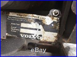 2012 Volvo EC20C Mini Excavator